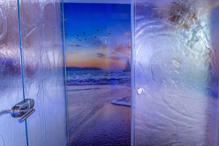 Hintergrundfoto Crea-Glass Dusche